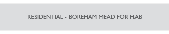 Residential - Boreham Mead for HAB